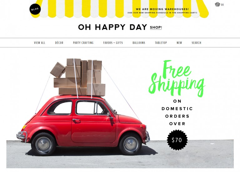 Oh Happy Day Shop